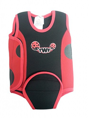 Neoprene Baby Wrap Wetsuit RED